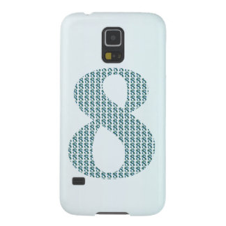 Number 8 / 8th Anniversary decorative gifts Galaxy S5 Cases
