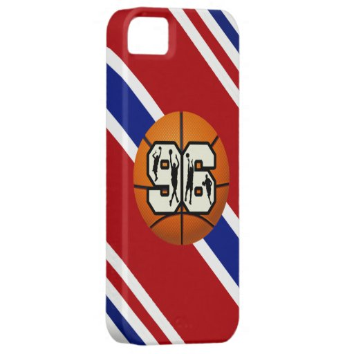 Number 96 Basketball iPhone 5 Covers