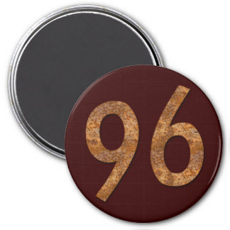 Number 96 fridge magnets