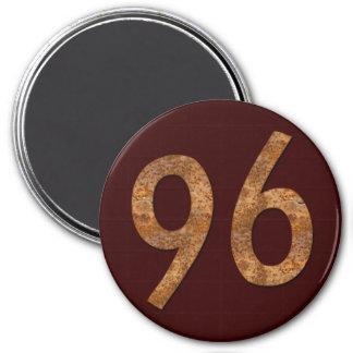 Number 96 magnet
