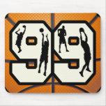 Number 99 Basketball Mousepad