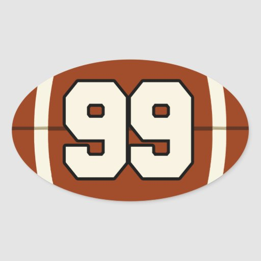 number_99_football_sticker-r818bc87302d3