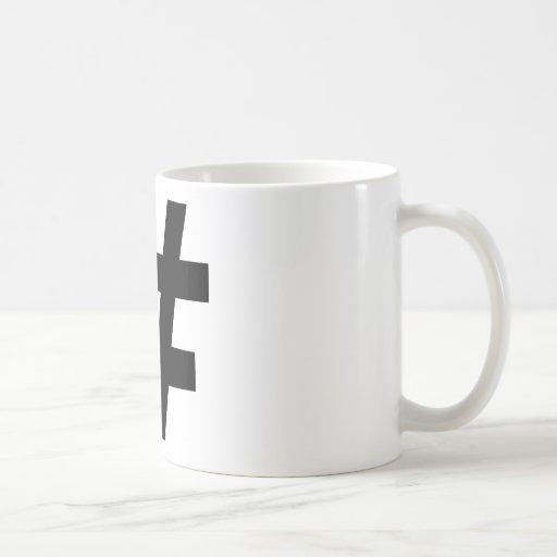 Number Classic White Coffee Mug