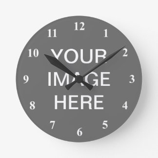 Number clock design | Customize it with your photo