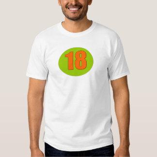 Number Eighteen Tee Shirt