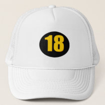 Number Eighteen Trucker Hat