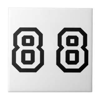 Number Eighty Eight Tile