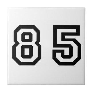 Number Eighty Five Tile