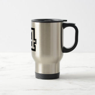 Number Eighty Four Travel Mug