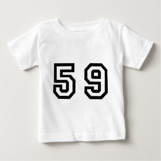 Number Fifty Nine Baby T-Shirt