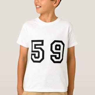 Number Fifty Nine T-Shirt