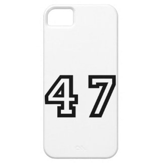 Number Forty Seven iPhone SE/5/5s Case