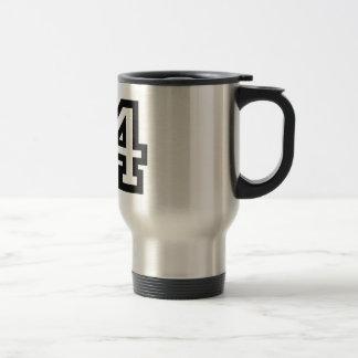 Number Fourteen Travel Mug