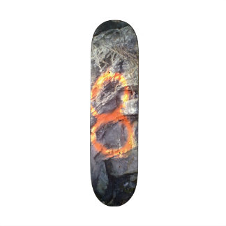 Number Mountain 8 Skateboard Deck