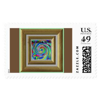 Number Nine concept art Gary Revel postage stamp