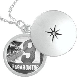 Number Nine Locket Necklace