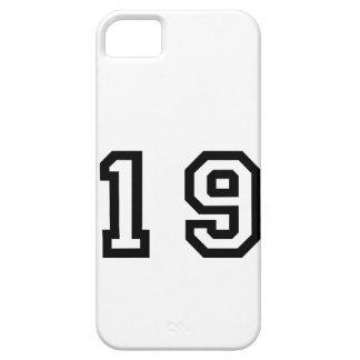 Number Nineteen iPhone SE/5/5s Case