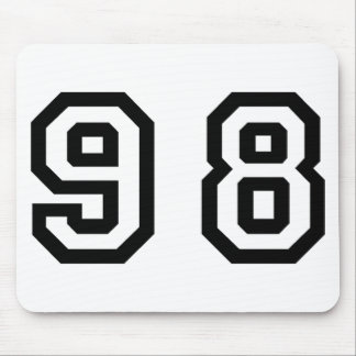 Number Ninety Eight Mouse Pad