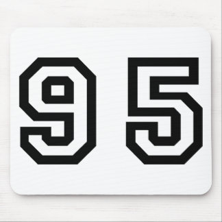 Number Ninety Five Mouse Pad
