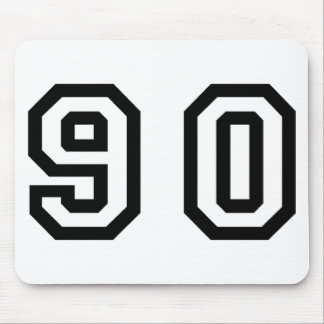 Number Ninety Mouse Pad