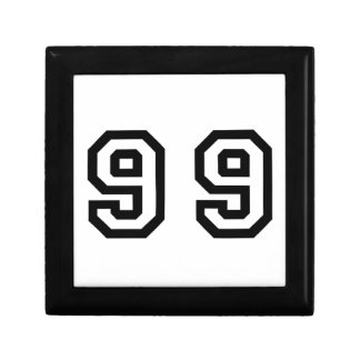 Number Ninety Nine Jewelry Box