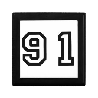 Number Ninety One Gift Box
