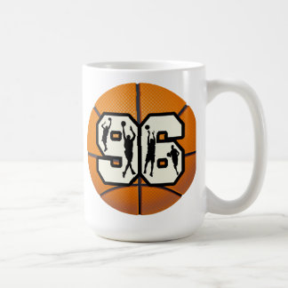 Number Ninety Six Basketball and Players Coffee Mug