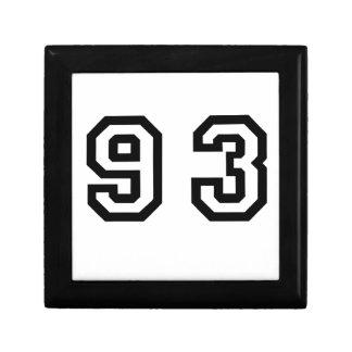 Number Ninety Three Gift Box