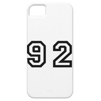 Number Ninety Two iPhone SE/5/5s Case