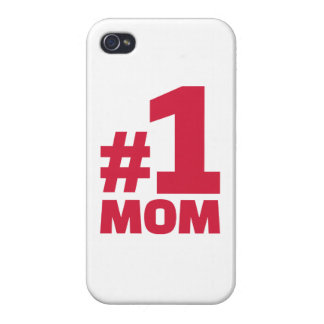 Number No. 1 Mom iPhone 4/4S Cases