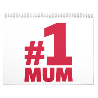 Number No. 1 Mum Calendar