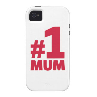 Number No. 1 Mum iPhone 4/4S Cover