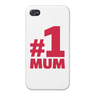 Number No. 1 Mum Cover For iPhone 4