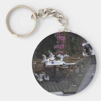 Number Of Pigeons On The Table For Food Keychains