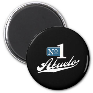 Number One Abuelo (2) Magnet