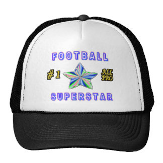 Number One All Pro Football Superstar Trucker Hat