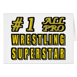 Number One All Pro Wrestling Superstar Card