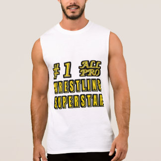 Number One All Pro Wrestling Superstar Sleeveless Tee