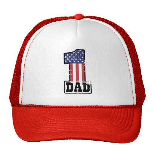 Number One American Dad Mesh Hat