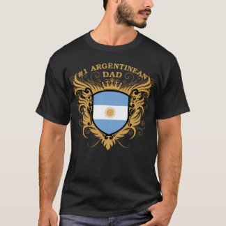 Number One Argentinean Dad T-Shirt