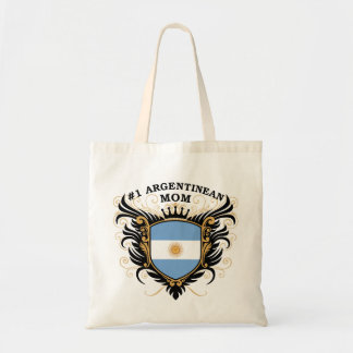 Number One Argentinean Mom Budget Tote Bag