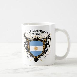 Number One Argentinean Mom Classic White Coffee Mug