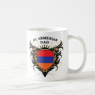 Number One Armenian Dad Classic White Coffee Mug