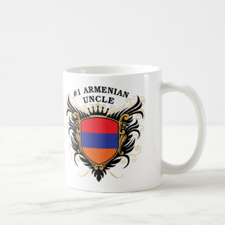 Number One Armenian Uncle Classic White Coffee Mug
