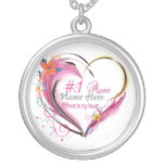 Number One Aunt Heart  Necklace