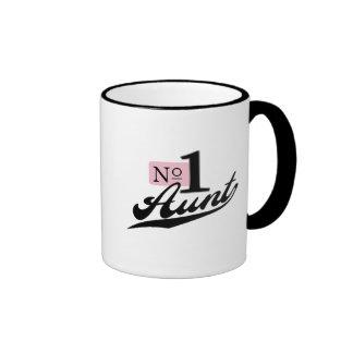 Number One Aunt Ringer Mug