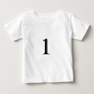 Number one baby T-Shirt