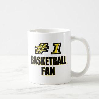 Number One Basketball Fan Mug