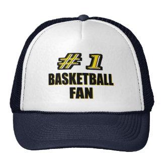 Number One Basketball Fan Trucker Hats