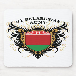 Number One Belarusian Aunt Mousepads